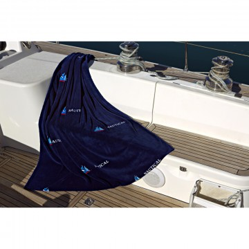 "Ocean One Coperta in pile ""Sailing"""