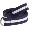 OCEAN ONE Cintura da donna D-Ring/ navy a righe