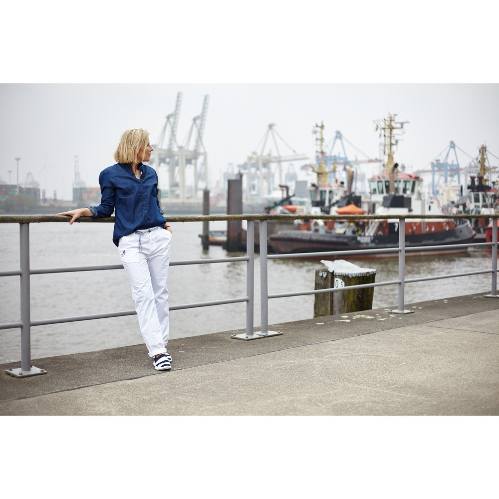 OCEAN ONE Damen Jeansbluse ″Inspires″